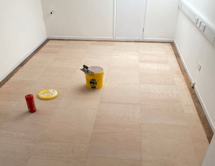 Vinyl Flooring Brsitol, floor tile preparation